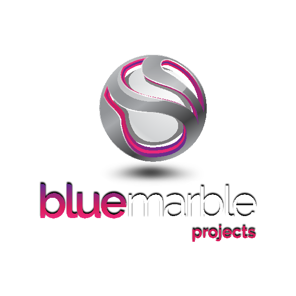 Home - Blue Marble Logo Projects With Shadow